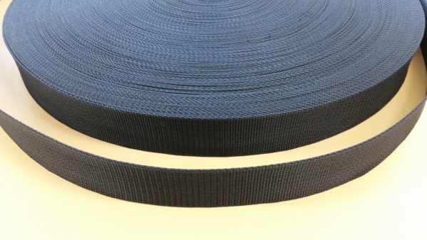 webbing 38mm blue